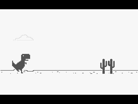 Google Dino Spiel