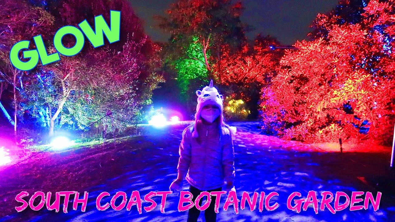 South Coast Botanic Garden Glow Event 2020 Opening Night Youtube