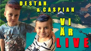 CASPIAN 7YR DESTAN 9YR ❤️ CREATIVE/CUSTOM ❤️😱 Use Code: TSN-Caspian 🔥 FORTNITE LIVE ON ENGLISH