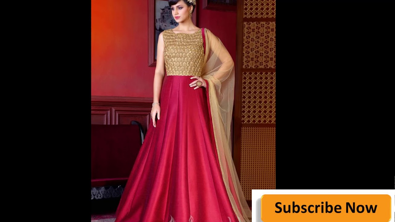 long wedding gown || bollywood designer gowns || Party wear Long ...
