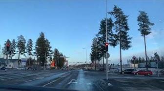 Pilkko - Rantakylä, Joensuu, Finland 4K (18.3.2020)