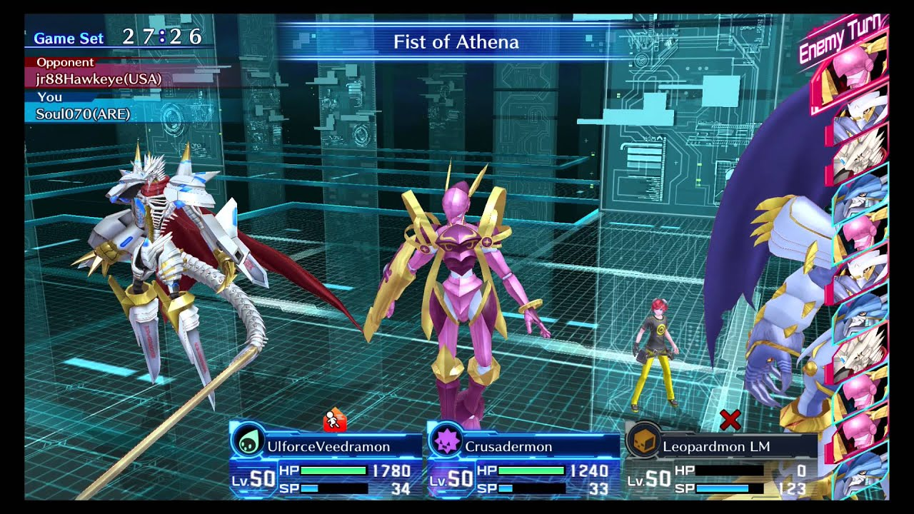 Digimon Story Cyber Sleuth Online Battle 7 By Soul070 Jesmon no posee cartas en digimon collectors. digimon story cyber sleuth online