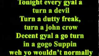 alkaline - gyal bruk out lyrics