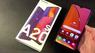 Обзор Samsung Galaxy A20S 3/32GB (A207F)