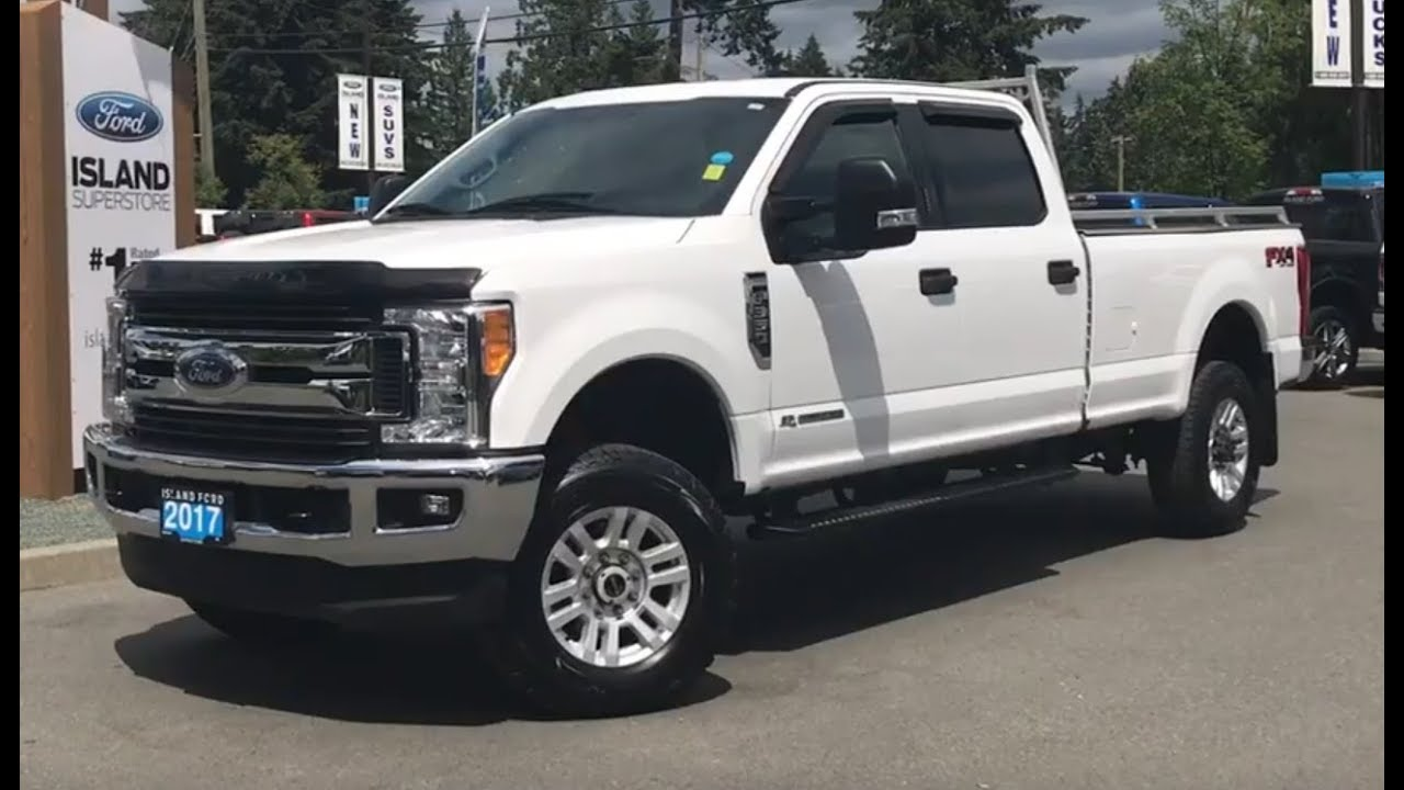 F250 Headache Rack >> 2017 Ford Super Duty F 350 Srw Xlt W Leveled Headache Rack Bluetooth Review Island Ford