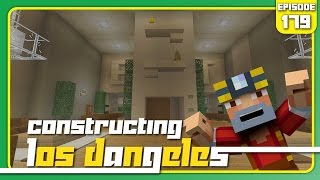 Minecraft Xbox 360: Constructing Los Dangeles - Episode 179! (Eclipse Apartment!)