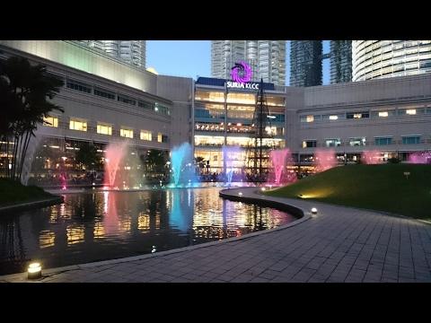 Suria KLCC Shopping Mall | Kuala Lumpur | Travel in Malaysia 2017