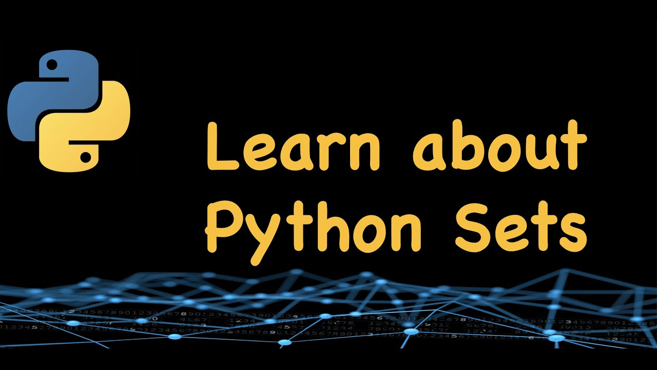 Sets in Python || Python tutorial for beginners || Learn Python #python