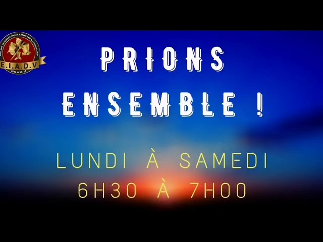 Prions ensemble 01/12/20 - Ancien B. Kayembe