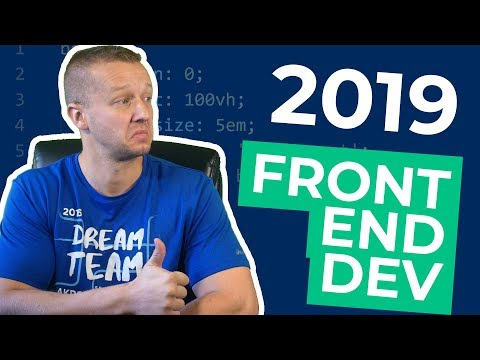 Becoming a Frontend Developer / Designer in 2019 - Five Step Guide