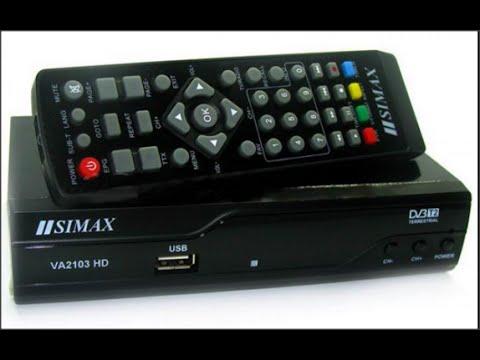 T2 simax VA2103 HD Поиск Каналов