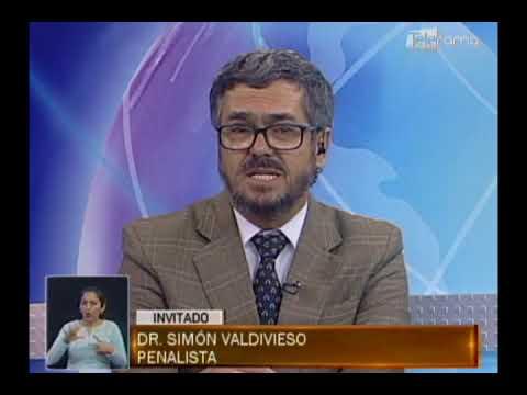 SIMÓN VALDIVIESO, PENALISTA