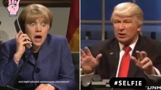 УБОЙНАЯ ПАРОДИЯ Donald Trump and Angela Merkel talk Comedy Club