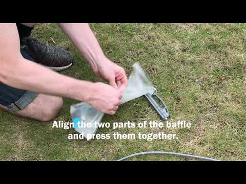 OutdoorMaster Hydration Bladder HYDROVOIR Product Demo (Real World Use)