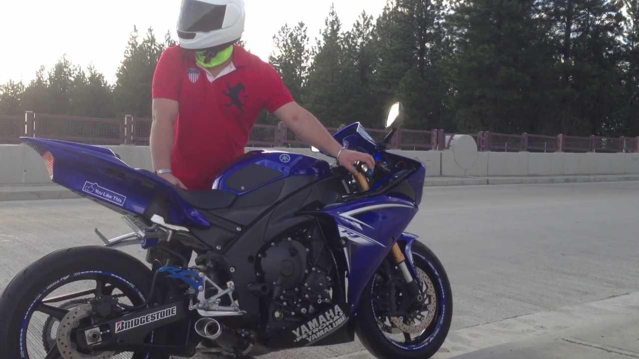 coffman's exhaust 09-12 yamaha r1 - YouTube