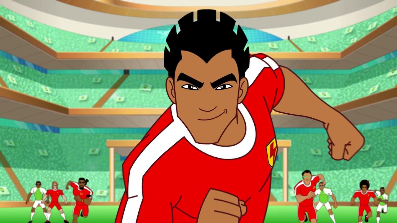 Supa Strikas Season 4 Episode 51 12th Man Kids Cartoon Youtube