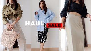 HAUL เห่อเสื้อผ้าแบรนด์ IG + ของsale! ZARA Topshop H&M | WEARTOWORKSTYLE
