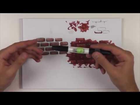 Скетч текстуры кирпича маркерами.vol 3. Видео урок о том, как рисовать текстуру кирпича маркерами.