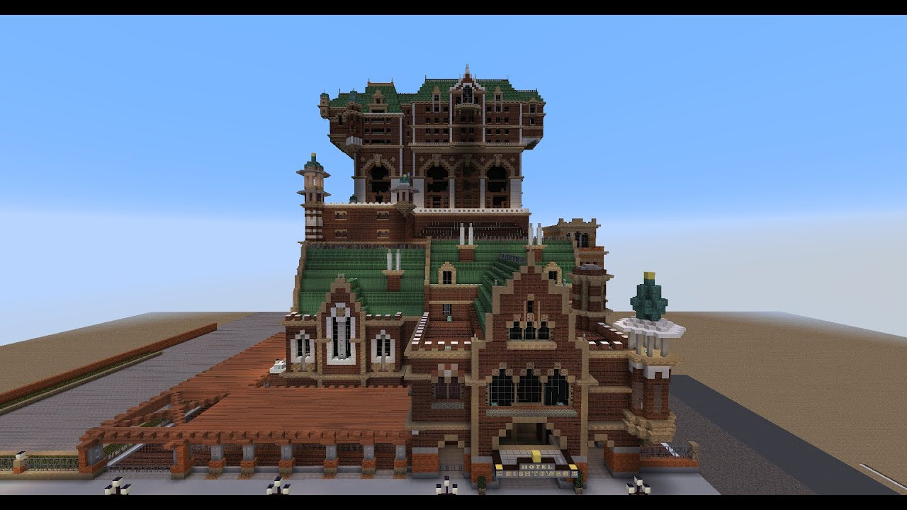 Minecraft Tower of Terror Hotel As