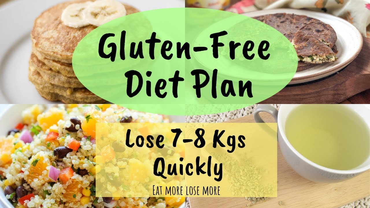 gluten free diet plans for weight loss