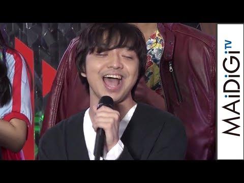 三浦大知、劇場版「エグゼイド」主題歌をアカペラで生披露 「劇場版 仮面ライダーエグゼイド トゥルー・エンディング」完成披露イベント4