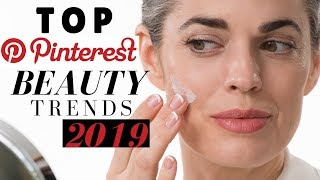 TOP PINTEREST BEAUTY TRENDS 2019 | Nikol Johnson