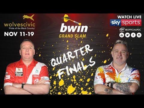 2017 Grand Slam of Darts Quarter Final Durrant vs Wright