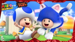 Super Mario 3D World for Switch ᴴᴰ Full Playthrough (All Green Stars & Stamps) Solo Toad