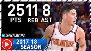 Devin Booker Full Highlights vs Lakers (2017.10.20) - 25 Pts, 11 Reb, 8 Ast