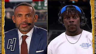 Jrue Holiday Joins GameTime, Talks Tying the Series in Game 4 - Suns vs Bucks - 2021 NBA Finals