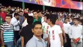 Worst fight between Indian And Pakistani Fans during World cup 2016