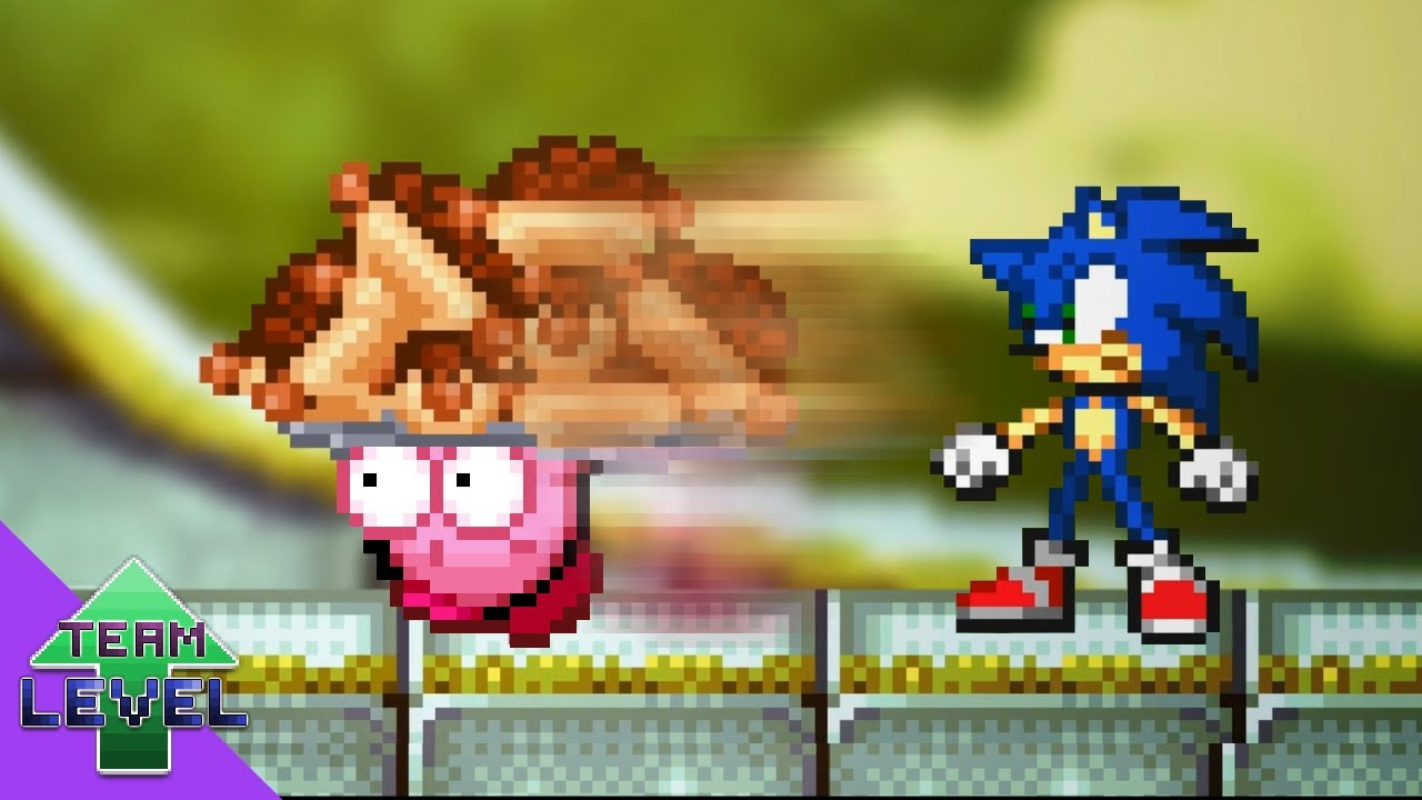 What if Kirby took Sonic's Chili Dogs?