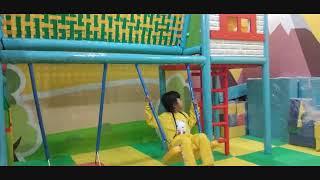 BARU !! KIDZ ZONE Wahana Permainan di RAMAYANA PLERED CIREBON bermain bersama ZAHIRAH