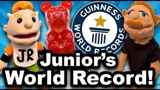 SML Movie: Junior's World Record!