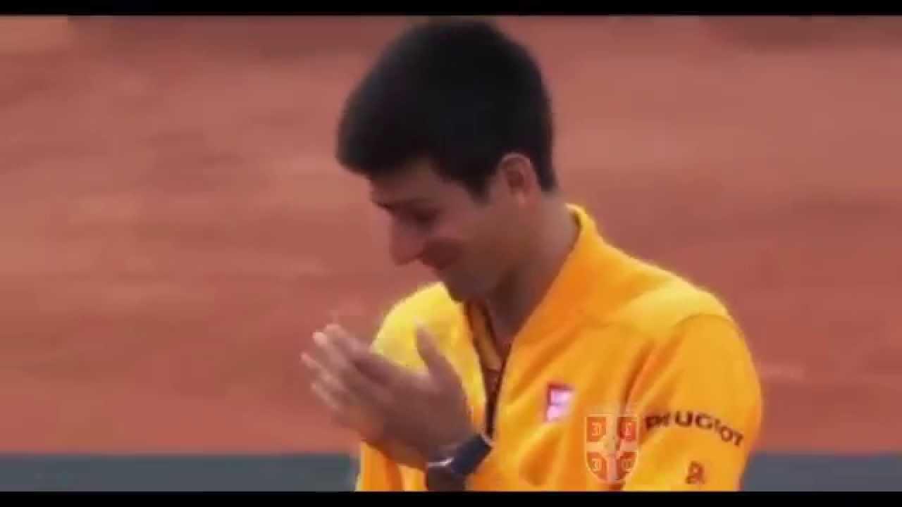 Novak Djokovic Champagne ACCIDENT in Rome (Nezgoda sa sampanjcem)