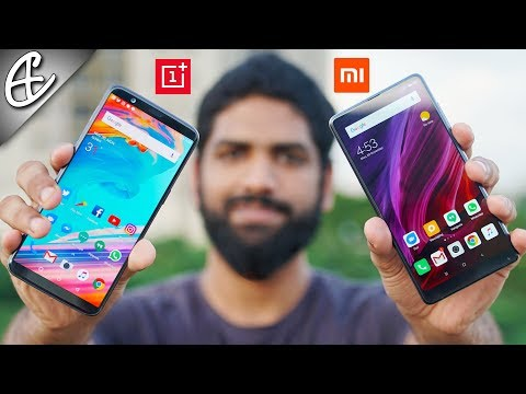 OnePlus 5T vs Mi Mix 2 - What's Best For YOU? Full Comparison!