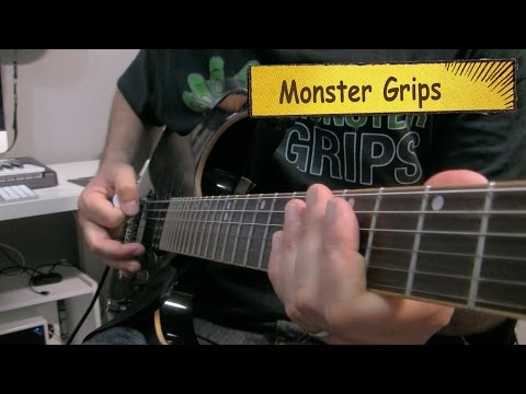 Better Guitar Technique With Monster Grips