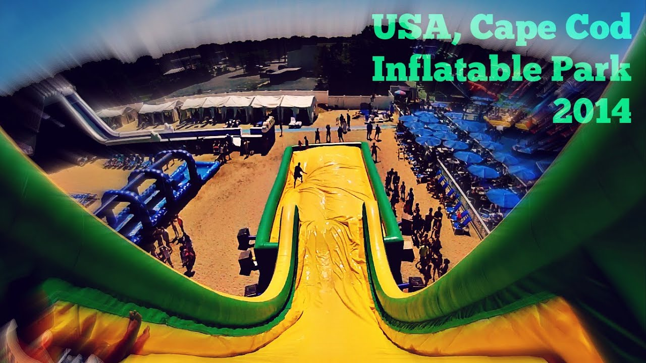 Cape Cod Inflatable Rentals Part - 36: Cape Cod Inflatable Park 2014 - YouTube