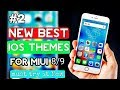 #2 New best ios theme for miui 8, miui 9 | IOS theme for Redmi phones