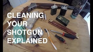 How to clean an over and under shotgun