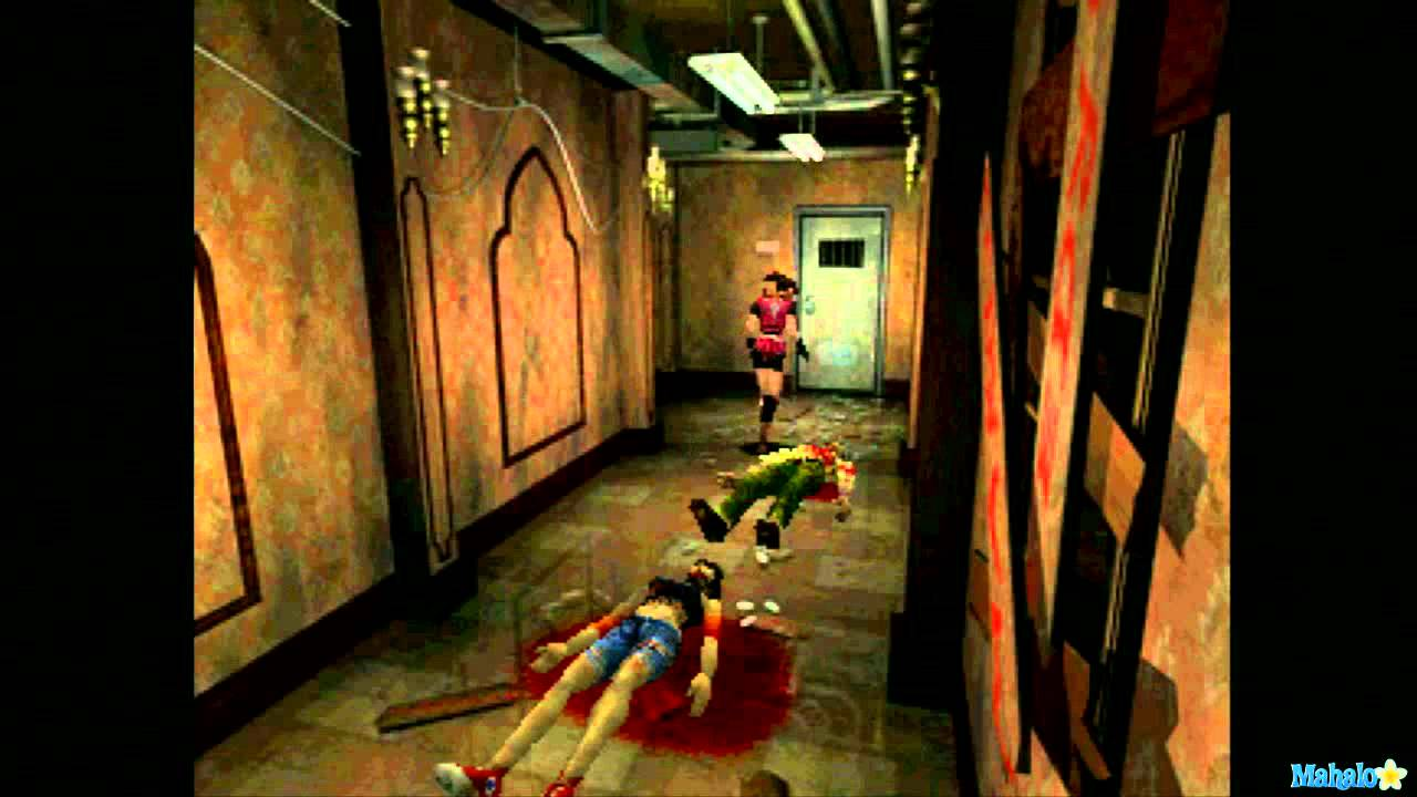 Resident Evil 2 Walkthrough - Claire Redfield Scenario 1st Part 4 - YouTube