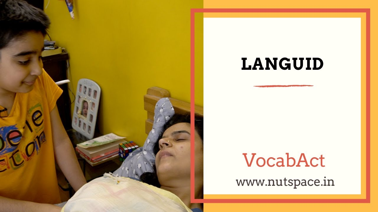 Download Languid Meaning & Pronunciation | English Vocabulary | VocabAct