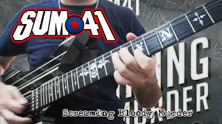 SCREAMING BLOODY MURDER (Solo + Tab) - SUM 41 (Cover) - JOAN MANUEL DEFELIPPE
