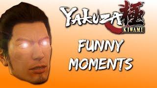 YAKUZA KIWAMI FUNNY MOMENTS