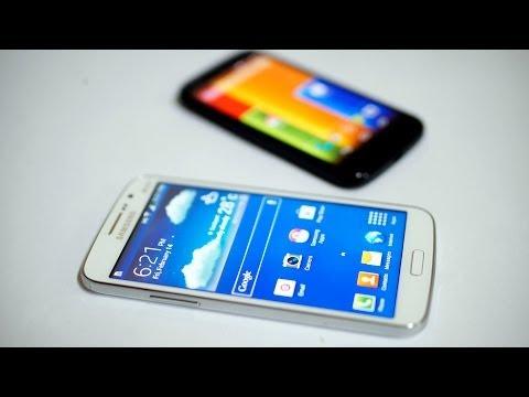 Galaxy Grand 2 vs Moto G Comparison