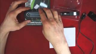 wireless multi point bluetooth hands free speakerphone with visor clip am bt gc 81811 1
