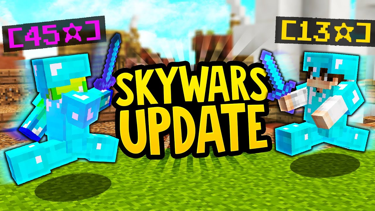 Hypixel added STARS in the new Minecraft Skywars UPDATE!