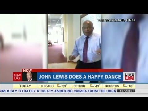 Inside Politics: John Lewis Happy