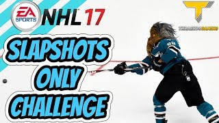 SLAPSHOTS ONLY Shootout Challenge - NHL 17