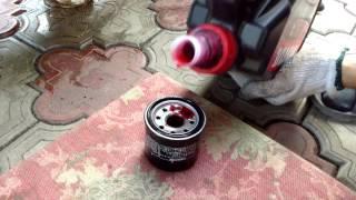 Как поменять масло на мотоцикле Honda CBR1100XX?